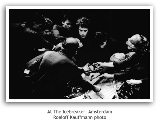 At The Icebreaker, Amsterdam