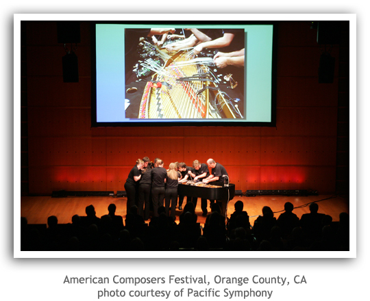American Composers Festival, Orange County, CA