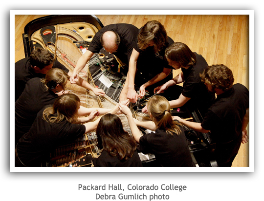 Packard Hall, Colorado College