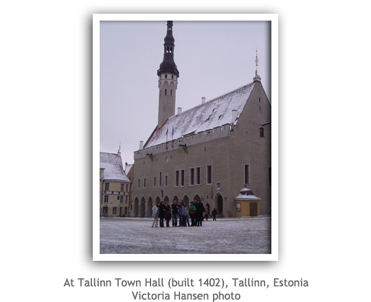 Tallinn Town Hall, Estonia
